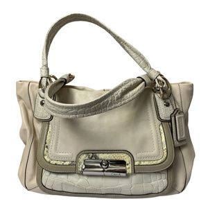 Coach Kristin Spectator Leather East West Tote Bag
